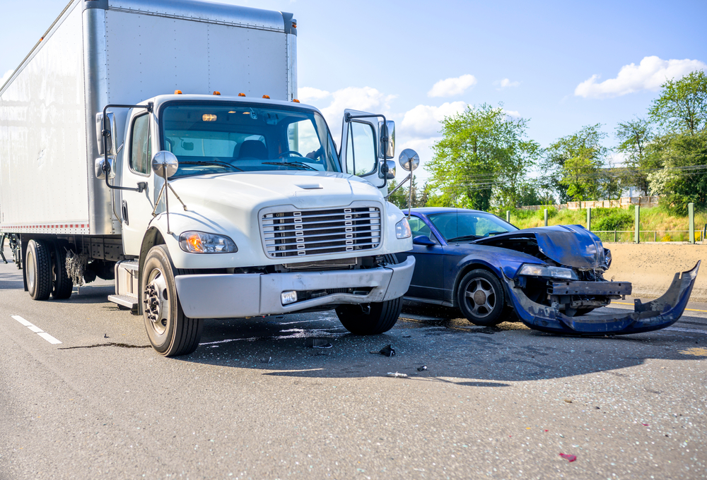 commercial trucking insurance can protect you if you're involved in a wreck