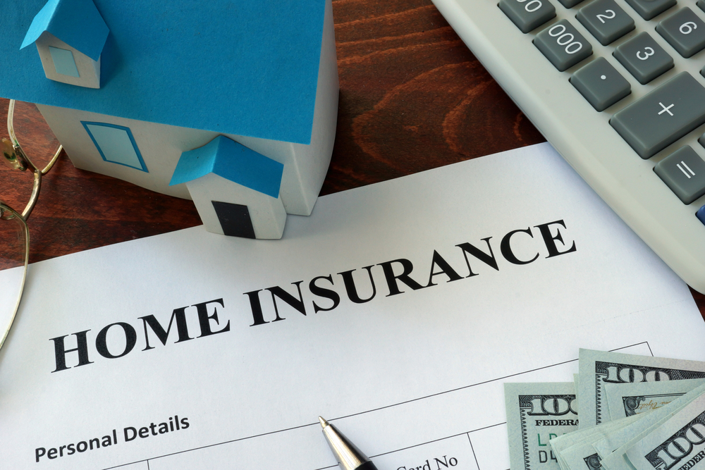 The average home insurance policy is $1,477 a year